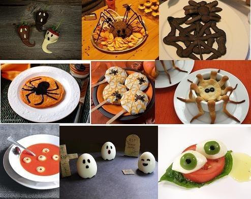 Еда на хэллоуин как сделать