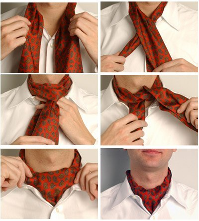 Как сделать платок на шее