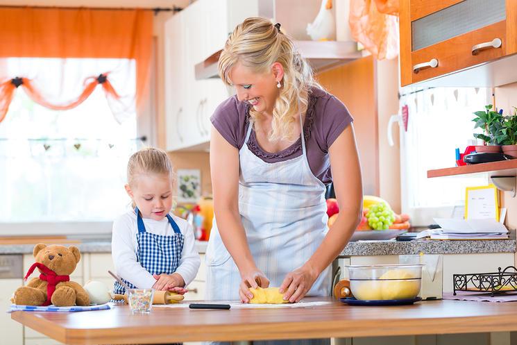 Готовим с детьми простые рецепты