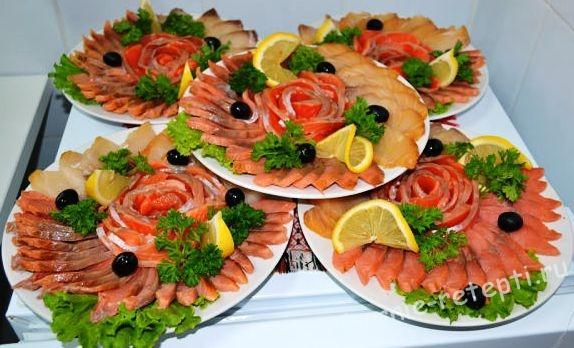 Блюдо из рыбы чешское