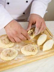 Приготовление блюда по рецепту - Картопляники. Шаг 4