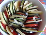 Приготовление блюда по рецепту - Рататуй с сыром. Шаг 6