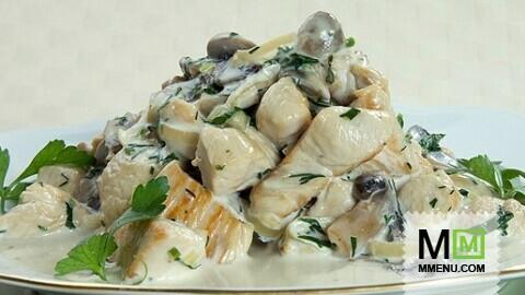 Рецепты салатов с помидорами и грецкими орехами