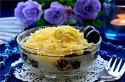 """Приготовление блюда по рецепту - Салат """"Первая любовь"""". Шаг 9"""