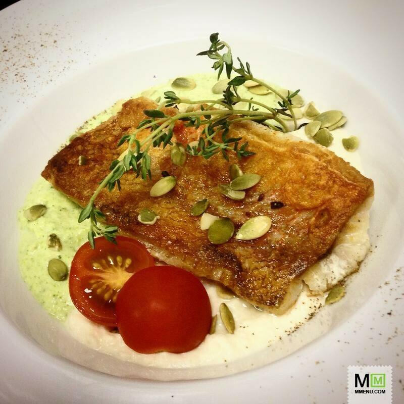 Тыквенный пармантье с морским окунем – кулинарный рецепт