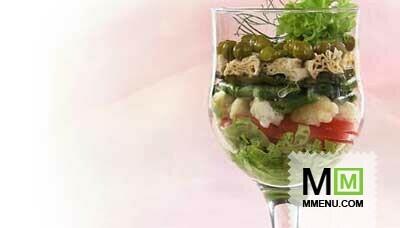 Салат-коктейль овощной рецепты