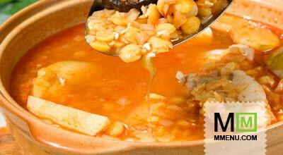 Суп гороховый «Ереванский»