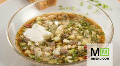 Окрошка по-деревенски - Рецепты супов