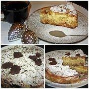 Приготовление блюда по рецепту - Нежный творожно-яблочный насыпной пирог. Шаг 10
