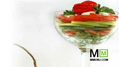 Салат коктейль овощной рецепт