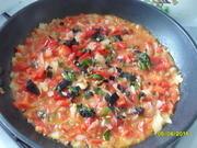 Приготовление блюда по рецепту - Рататуй с сыром. Шаг 4
