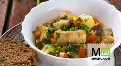 Аджапсандал с мясом и картошкой рецепт