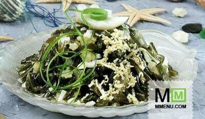 Салат с цветочным капустой
