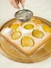 Приготовление блюда по рецепту - Персиково-миндальное пирожное. Шаг 3