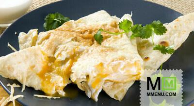 Ёка - армянский лаваш с сыром и яйцом