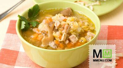 суп с окорочком рецепт в мультиварке