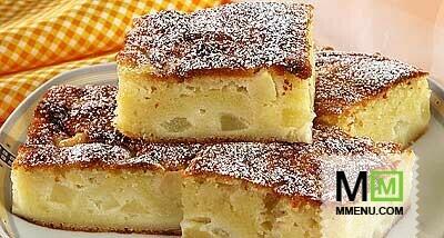 Пирог с яблоками бабушкин