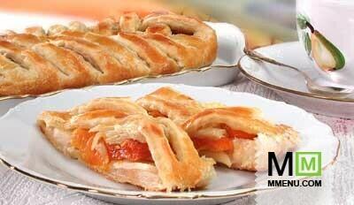 Пирог с яблоками как слоеный — pic 5