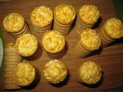 Приготовление блюда по рецепту - Праздничный салат фаршированный в фуршетные трубочки. Шаг 5