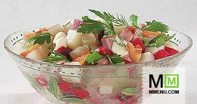 Азиатский салат с мясом рецепт