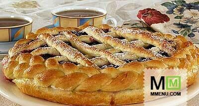 открытый пирог со смородиной в духовке рецепт