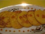 Приготовление блюда по рецепту - Икорные оладьи. Шаг 4
