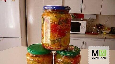 Домашние заготовки салаты на зиму с фото