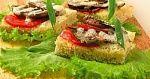 рецепт: Бутерброды сошпротами (2)