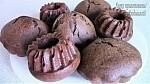 Рецепт: Постные (вегетарианские) шоколадные кексы