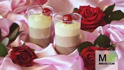 рецепт десерт шоколадный в стаканах