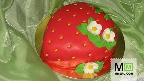 торт ягодка рецепт фото