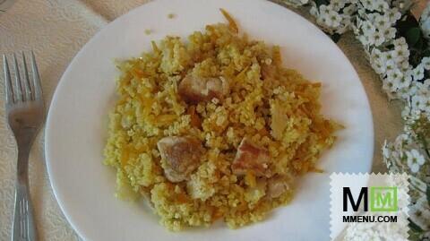 пшеничная каша с курицей рецепт с фото