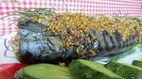 Скумбрия, запеченная в горчичном маринаде