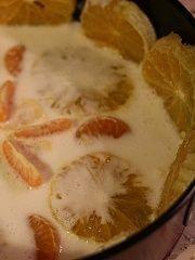 """Приготовление блюда по рецепту - Фруктово-желейный торт """"Мандарины, апельсины"""". Шаг 8"""