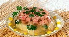 Рецепт - Рыбный холодец