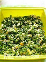 Приготовление блюда по рецепту - Пирог с зеленым луком и яйцом.. Шаг 9