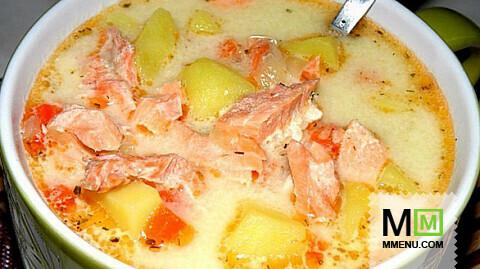 рецепт супа с лососем