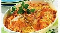 Рыба с капустой