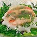 Заливное из головы лосося пошаговый рецепт