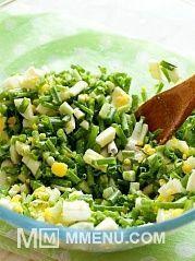 Приготовление блюда по рецепту - Пирог с зеленым луком и яйцом.. Шаг 7