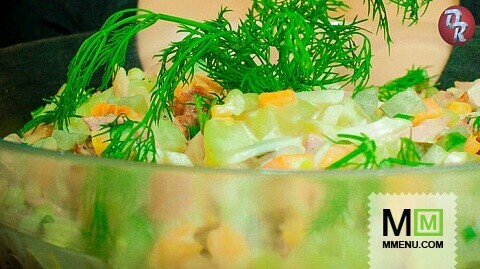Подскажите рецепт салата оливье