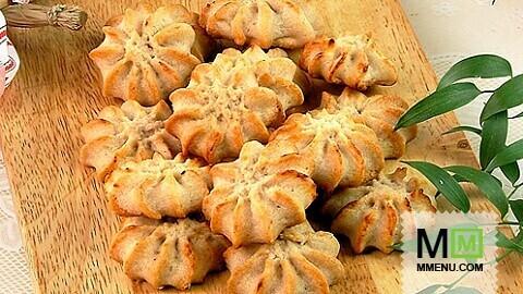 Печенье из кондитерского мешка рецепт с фото