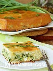 Приготовление блюда по рецепту - Пирог с зеленым луком и яйцом.. Шаг 12
