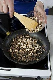 Паста с шампиньонами в сливочном соусе – кулинарный рецепт