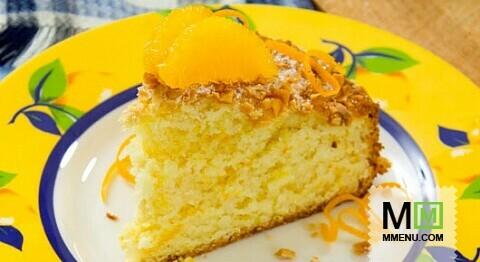 Торт с цедрой мандарина рецепт