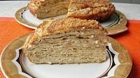 Венгерский закусочный блинный торт