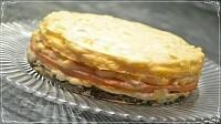 Трехслойный торт – ОМЛЕТ!