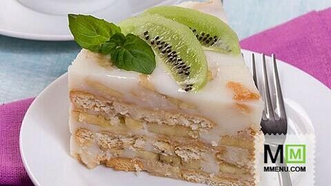 банановый торт картинки