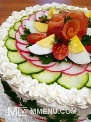 Приготовление блюда по рецепту - Праздничный скандинавский торт. Шаг 1