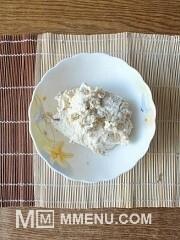 Приготовление блюда по рецепту - Диетические сырники с яблоками.. Шаг 2